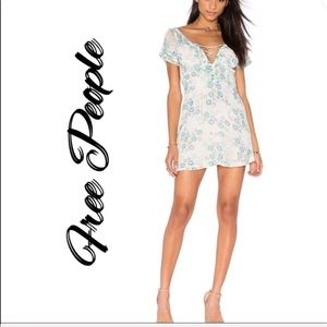 Free people yours truly ruffled dress
